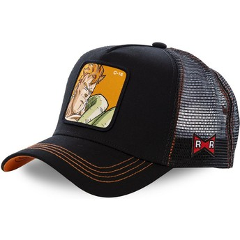 Casquette trucker noire Android C-16 C16B Dragon Ball Capslab