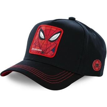 Casquette courbée noire snapback Spider-Man SPI3 Marvel Comics Capslab