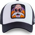 casquette-trucker-blanche-master-roshi-kam4-dragon-ball-capslab