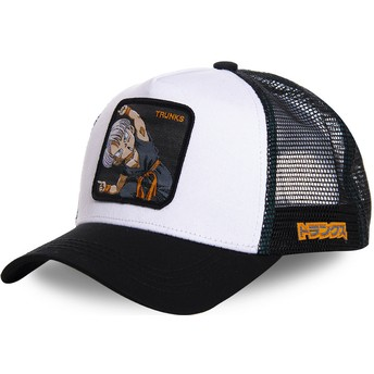 Casquette trucker blanche Trunks Fusion TRK2 Dragon Ball Capslab