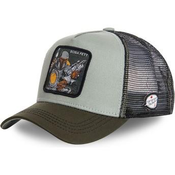 Casquette trucker verte Boba Fett BOB3 Star Wars Capslab