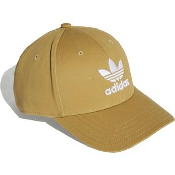 Casquette courbée marron ajustable Trefoil Baseball Adidas