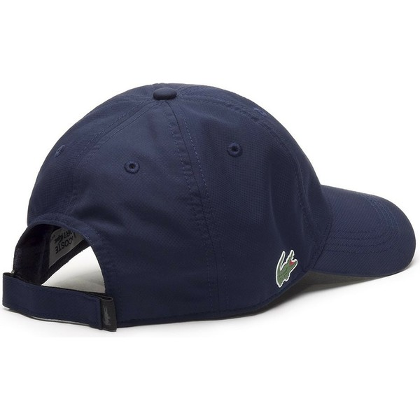 casquette-courbee-bleue-marine-ajustable-basic-dry-fit-lacoste