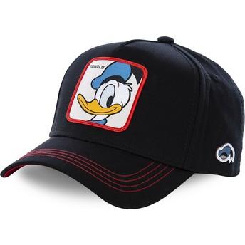 Casquette courbée noire snapback Donald Fauntleroy Duck DUC3 Disney Capslab