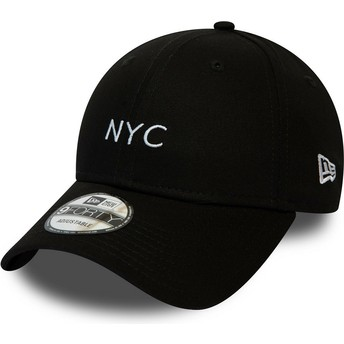 Casquette courbée noire ajustable 9FORTY Seasonal NYC New Era