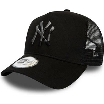Casquette trucker noire avec logo camouflage InFill A Frame New York Yankees MLB New Era