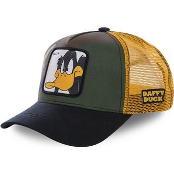 Casquette trucker camouflage, jaune et noire Daffy Duck DAF4 Looney Tunes Capslab