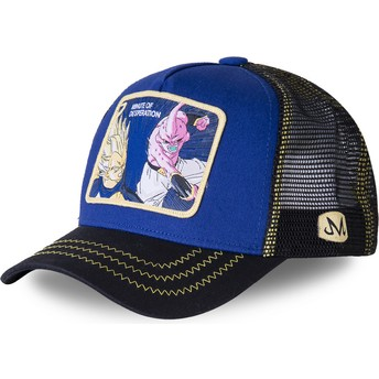 Casquette trucker bleue Vegeta Vs Kid Buu Minute of Desperation DES2 Dragon Ball Capslab