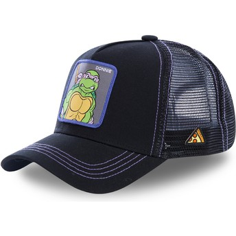 Casquette trucker noire Donatello DON Tortues Ninja Capslab
