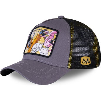 Casquette trucker grise Gohan Vs Majin Buu WHO2 Dragon Ball Capslab