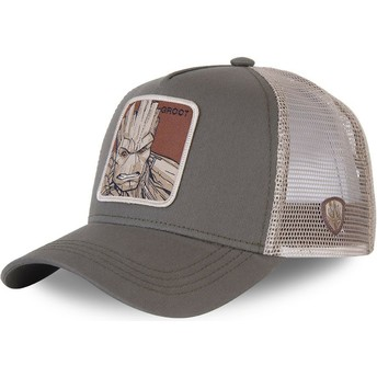 Casquette trucker verte Groot GRO3 Marvel Comics Capslab