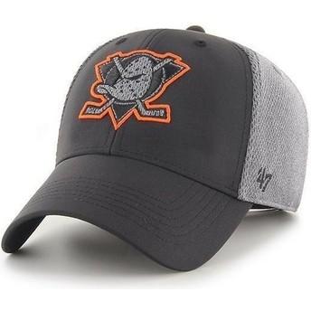 Casquette courbée noire MVP Arlo Anaheim Ducks NHL 47 Brand