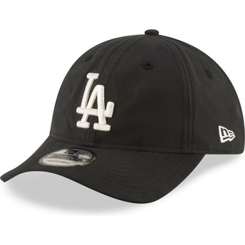 Casquette courbée noire ajustable 9TWENTY Nylon Packable Los Angeles Dodgers MLB New Era