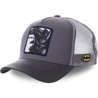 Casquette trucker grise Batman BTM1 DC Comics Capslab