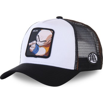 Casquette trucker blanche et noire Krillin KRI Dragon Ball Capslab