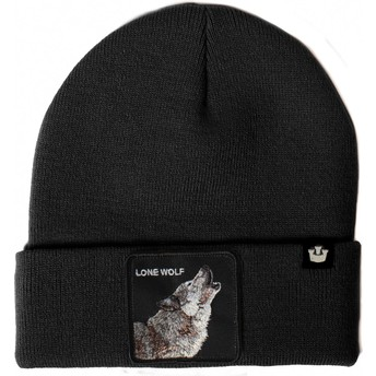 Bonnet noir loup Wolf Man Goorin Bros.