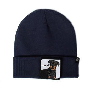 Bonnet bleu marine chien rottweiler Tough Dog Goorin Bros.