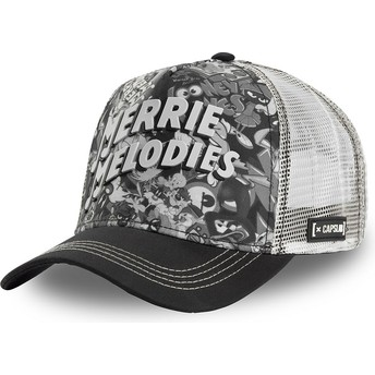 Casquette trucker noire et blanche Merrie Melodies BAW1 Looney Tunes Capslab