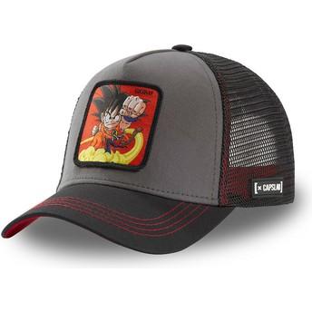 Casquette trucker grise et noire Son Goku Enfant GOK4 Dragon Ball Capslab