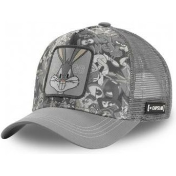 Casquette trucker grise Bugs Bunny PEO1 Looney Tunes Capslab
