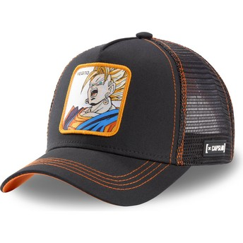 Casquette trucker noire Vegetto Super Saiyan VEG3 Dragon Ball Capslab
