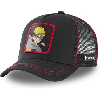 Casquette trucker noire Naruto Uzumaki NAR2 Naruto Capslab