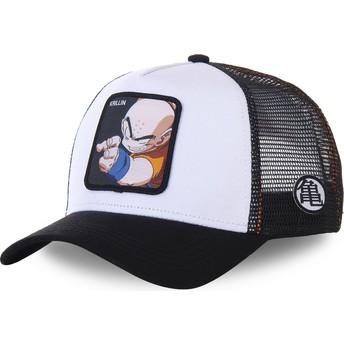 Casquette trucker blanche et noire pour enfant Krillin KID_KRI Dragon Ball Capslab
