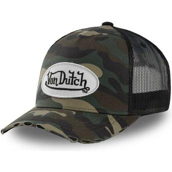 Casquette trucker camouflage pour enfant KID_CAMO05 Von Dutch
