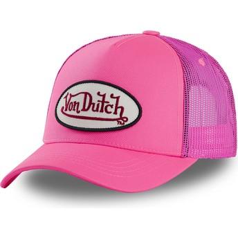 Casquette trucker rose FRESH04 Von Dutch
