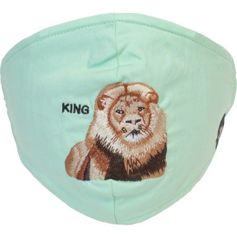 Masque réutilisable vert menthe lion Mane Cat Goorin Bros.