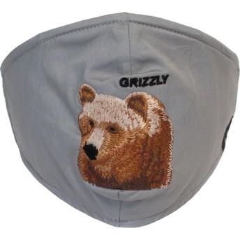 Masque réutilisable gris ours Bear Mountain Goorin Bros.