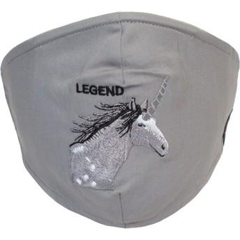 Masque réutilisable gris licorne Living Legend Goorin Bros.