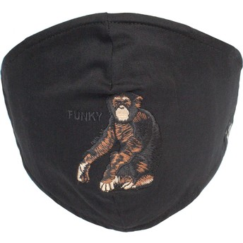 Masque réutilisable noir singe Silly Monkey Goorin Bros.