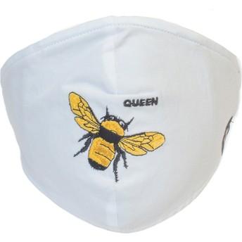 Masque réutilisable blanc abeille Buzzy Bee Goorin Bros.