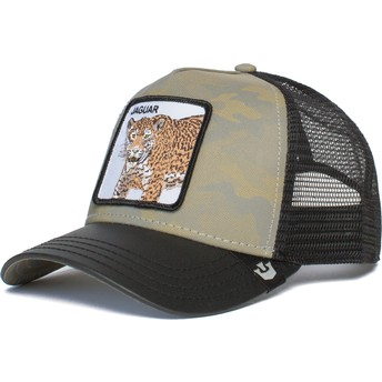Casquette trucker camouflage grise et noire jaguar Pride Boss Goorin Bros.