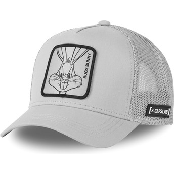 Casquette trucker grise Bugs Bunny LOO4 BUG1 Looney Tunes Capslab