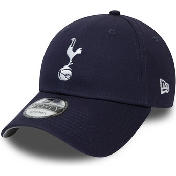 Casquette courbée bleue marine ajustable 9FORTY Essential Tottenham Hotspur Football Club New Era