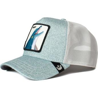 Casquette trucker bleue dauphin Flippy Floppy Goorin Bros.