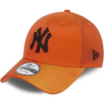 Casquette courbée orange ajustable 9FORTY Hypertone New York Yankees MLB New Era