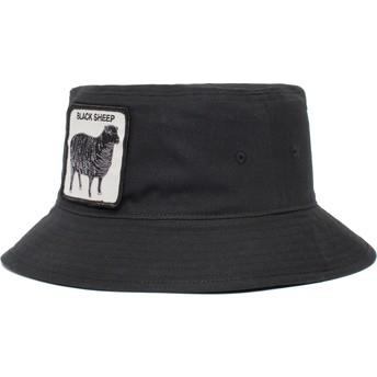 Chapeau seau noir mouton Black Sheep Baaad Guy The Farm Goorin Bros.