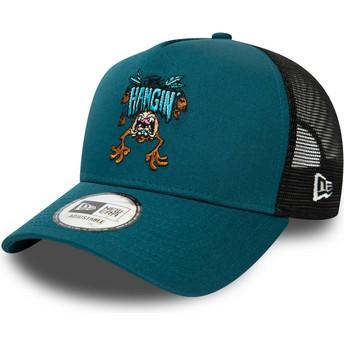 Casquette trucker bleue Character A Frame Diable Tasmanie Looney Tunes New Era
