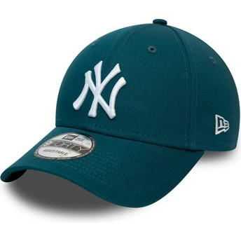 Casquette courbée bleue ajustable 9FORTY League Essential New York Yankees MLB New Era