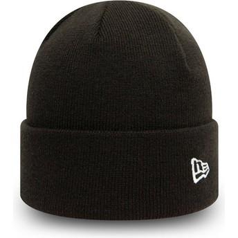 Bonnet noir Cuff Knit Pop Short New Era