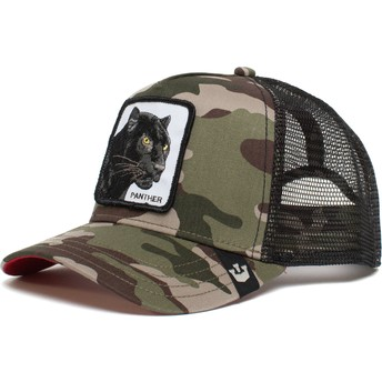 Casquette trucker camouflage panthère Black Panther The Farm Goorin Bros.