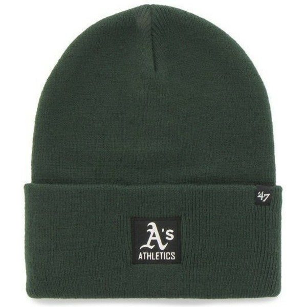 bonnet-vert-oakland-athletics-mlb-47-brand