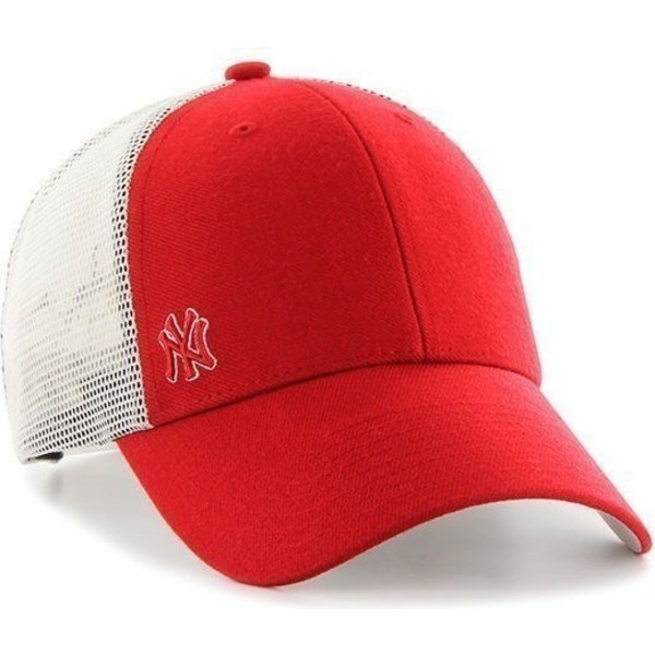 casquette-trucker-rouge-new-york-yankees-mlb-suspense-47-brand