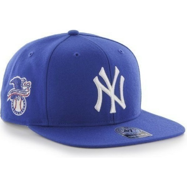 casquette-plate-bleue-snapback-new-york-yankees-mlb-sure-shot-47-brand