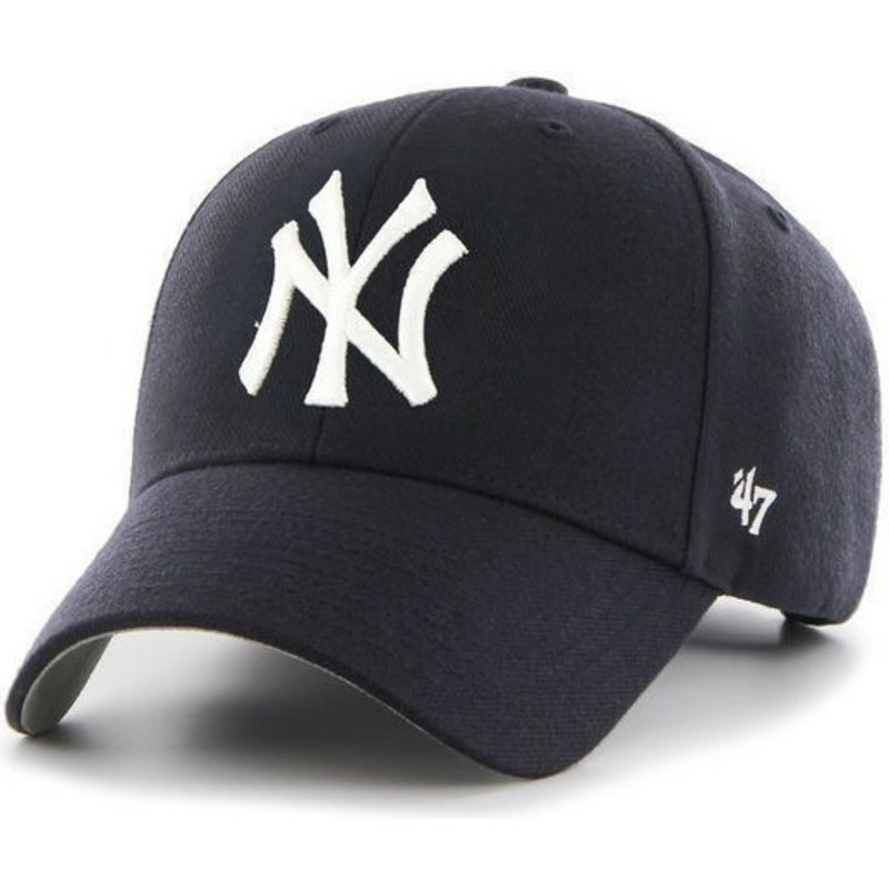 casquette-courbee-bleue-marine-new-york-yankees-mlb-47-brand
