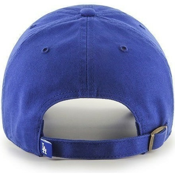 casquette-courbee-bleue-los-angeles-dodgers-mlb-clean-up-47-brand