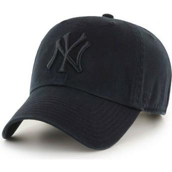 Casquette courbée noire New York Yankees MLB Clean Up 47 Brand